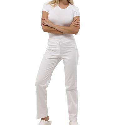 Pantalone Medicale Siggi Sun 100% Cotone Fascia Elastica In Coscia