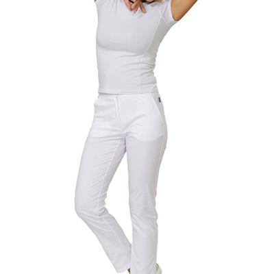 Pantalone Medicale Donna Tamara Bianco Elasticizzato