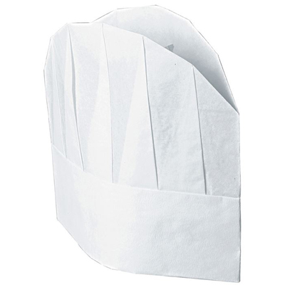 Confez. Cappello Cuoco Tnt Cm 23 (10pz)