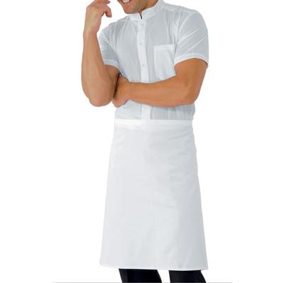 Grembiule Vita Cm 70×60 S/tasca Bianco 100 % Cotton