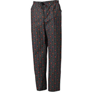 Pantalone Atene Fantasia Con Elastico E Laccio In Vita