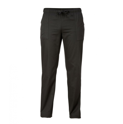 Pantalone Alan Con Elastico E Laccio Nero
