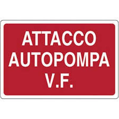 Cartello Attacco Autopompa