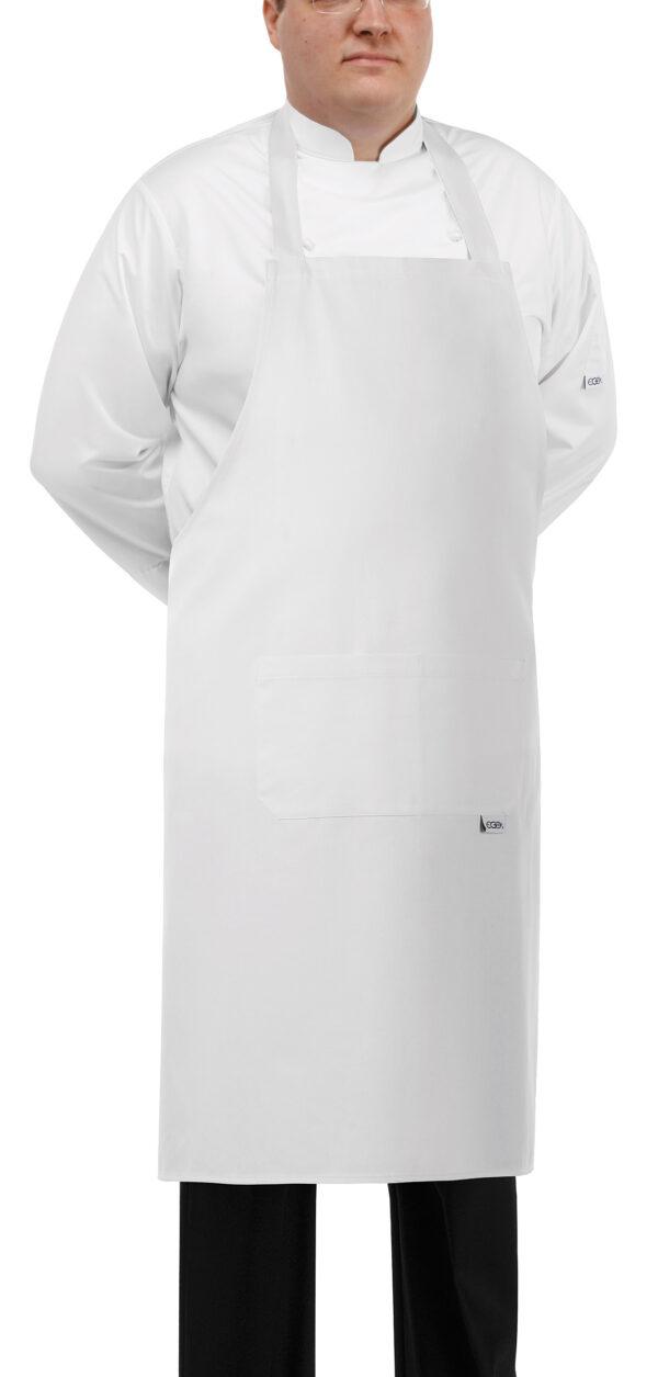 Grembiule Grande Bianco 100cmx100cm Egochef