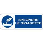 Cartello Obbligo Spegnere Le Sigarette 350×125