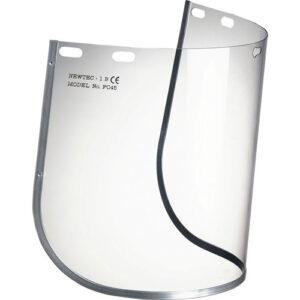 Visiera Trasparente Cm 20×40 Per Semicalotta
