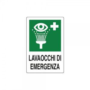 Cartello Lavaocchi Di Emergenza 250×310