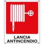Cartello Lancia Antincendio 250×310