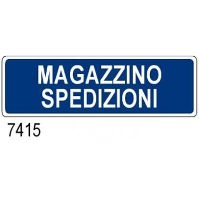 Cartello Aziendale Magazzino Spedizioni 350×125