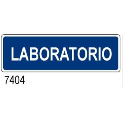 Cartello Aziendale Laboratorio 350×125
