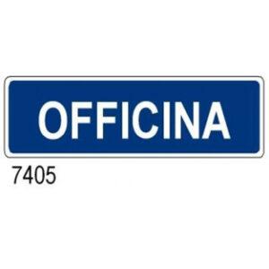 Cartello Aziendale Officina 350×125