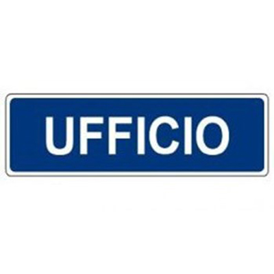 Cartello Ufficio 350×125