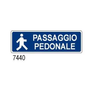 Cartello Passaggio Pedonale 350×125