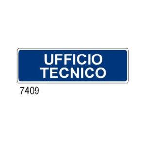 Cartello Ufficio Tecnico 350×125