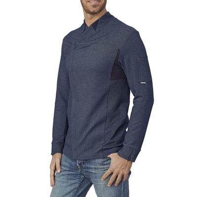 Giacca Cuoco Patrick Tessuto Tecnico Blu Jeans