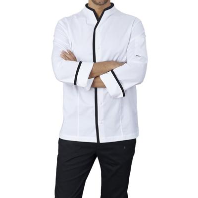 Giacca Cuoco Victor Coreana Elasticizzata