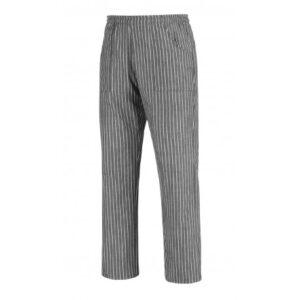 Pantalone Coulisse Pocket Gessato Egochef