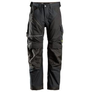 Pantalone Stretch Snickers Senza Tasche Flottanti Rinforzato Davanti