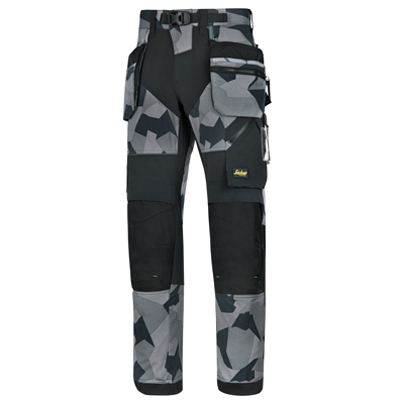 Pantalone Flexi Work Con Tasche Esterne Snickers