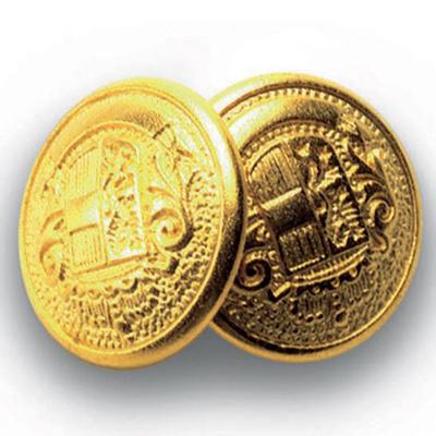 Bottone Gemello Oro+oro Conf. 4 Pz