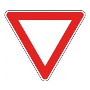 Triangolo Lato 90  Dare Precedenza Fig. 36