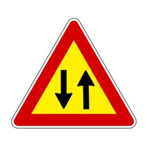Triangolo Lato 90 Fe.eg Doppio Senso Di Circolazione Fig.3870