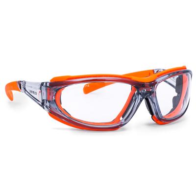 Occhiale Mirador Crystal Arancio Pc Afp Uv Ultra Antiappannate