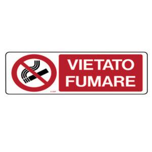 Cartello Divieto Vietato Fumare 350×125
