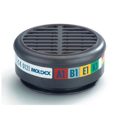 Filtro Gas/vapori A1b1e1k1 Per Serie 8000