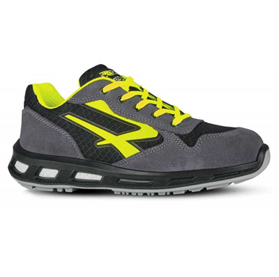 Scarpa Scamosciata  Yellow S1p Red Lion