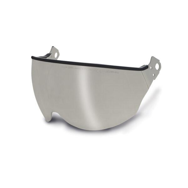 Visiera Corta Per Elmetto Kask Plasma Silver Mirror Specchiata Completa Di Attacchi