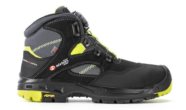 scarpe antinfortunistiche s3 sixton ortisei lacci lato 1