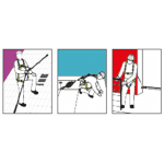 Dispositivo Anticaduta Retrattile Kratos Safety FA2050403 utilizzo